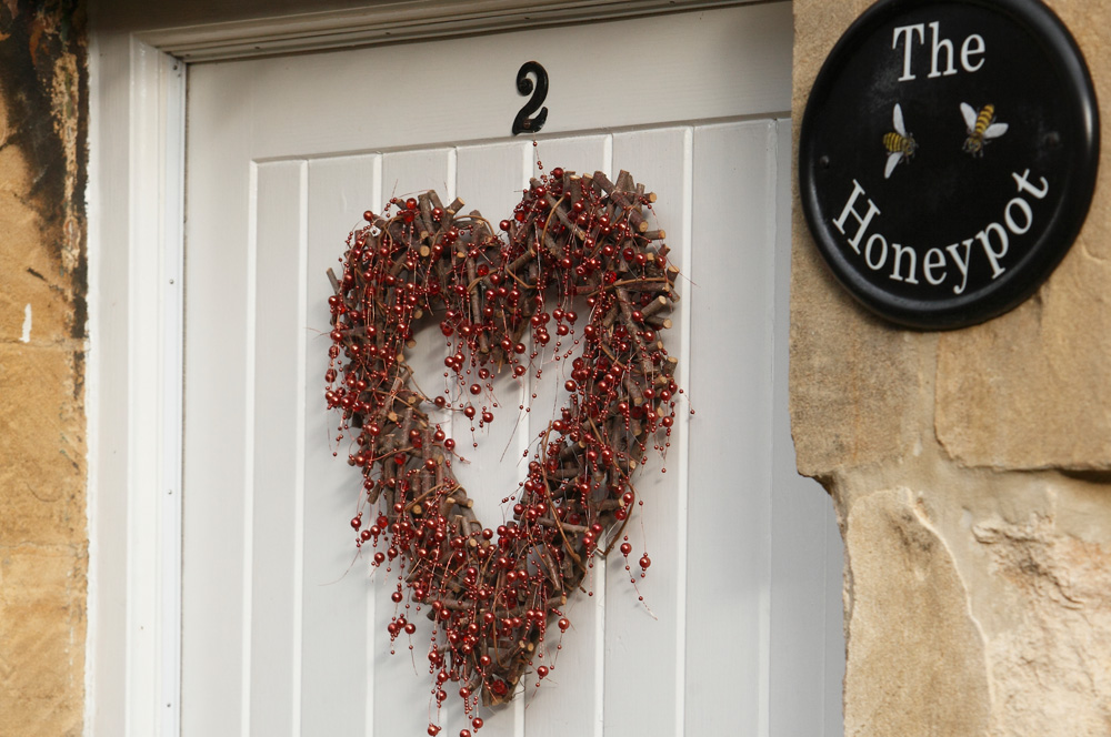 The Honeypot Cottage Chipping Campden Front Door